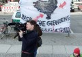 Protest bei Lesung des span. Richters Garzon in Berlin 2011