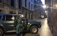 Guardia Civil am 12.1.2015 in Bilbo